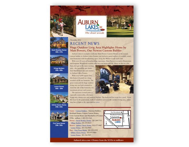 Auburn Lakes Newsletter