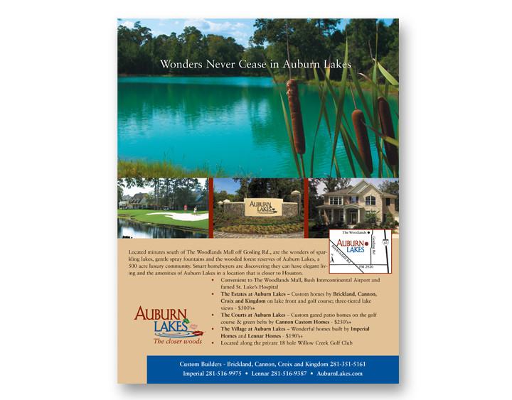 Auburn Lakes Ad