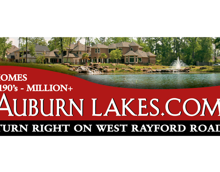 Auburn Lakes Billboard