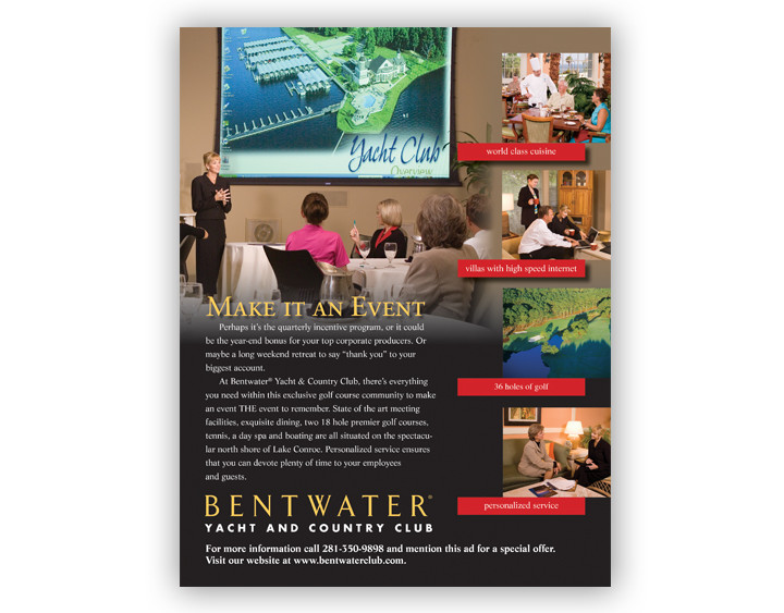 Bentwater Ad