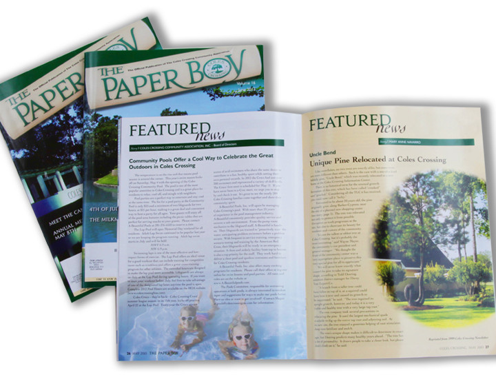Coles Crossing Paper Boy Newsletter