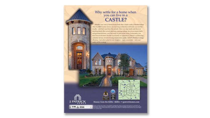 JP castle ad
