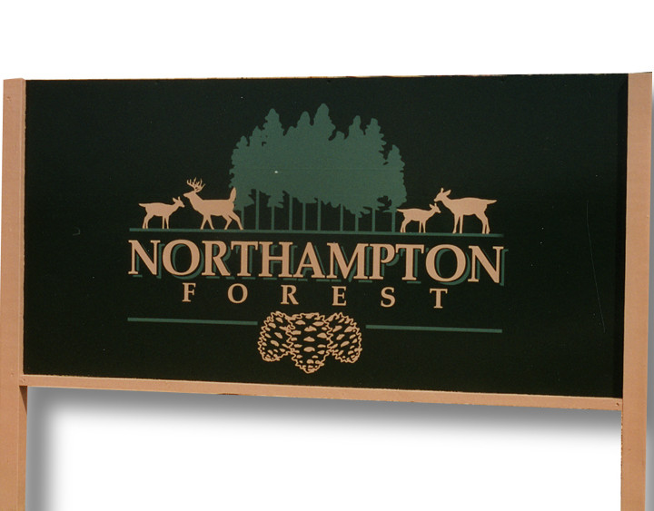 Northampton Forest Sign