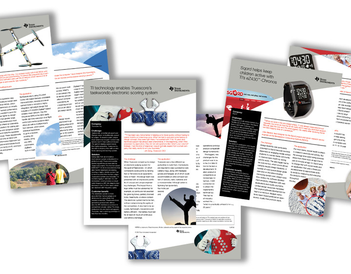 Texas Instruments Case Studies Brochures