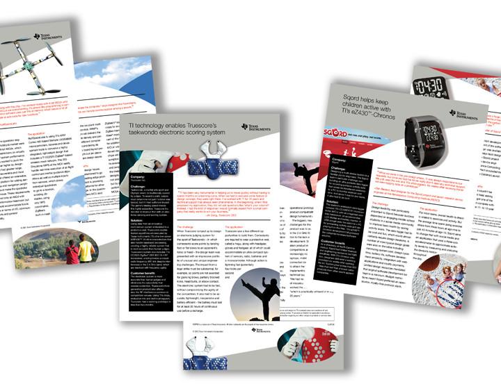 Texas Instruments Case Studies Brochures