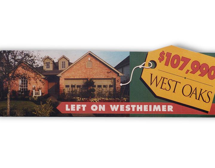 West Oaks Billboard