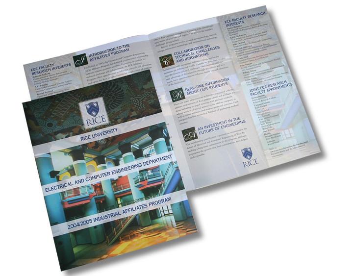 Rice University Brochure