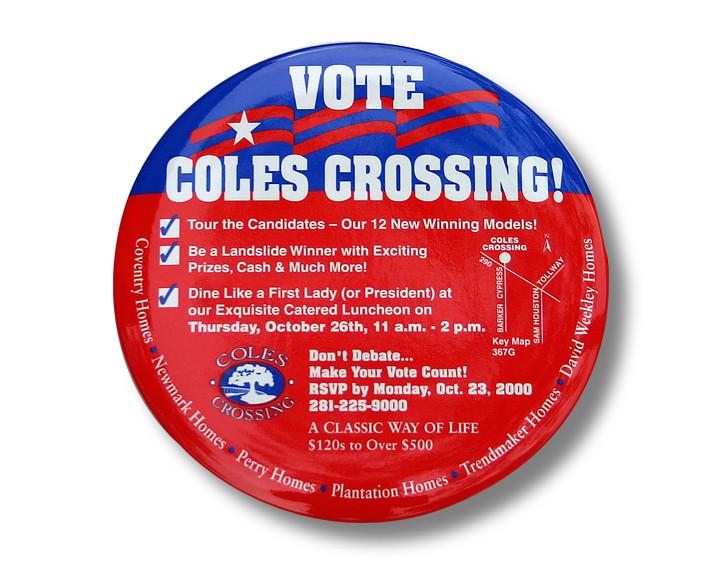 Vote Coles Crossing Invitation